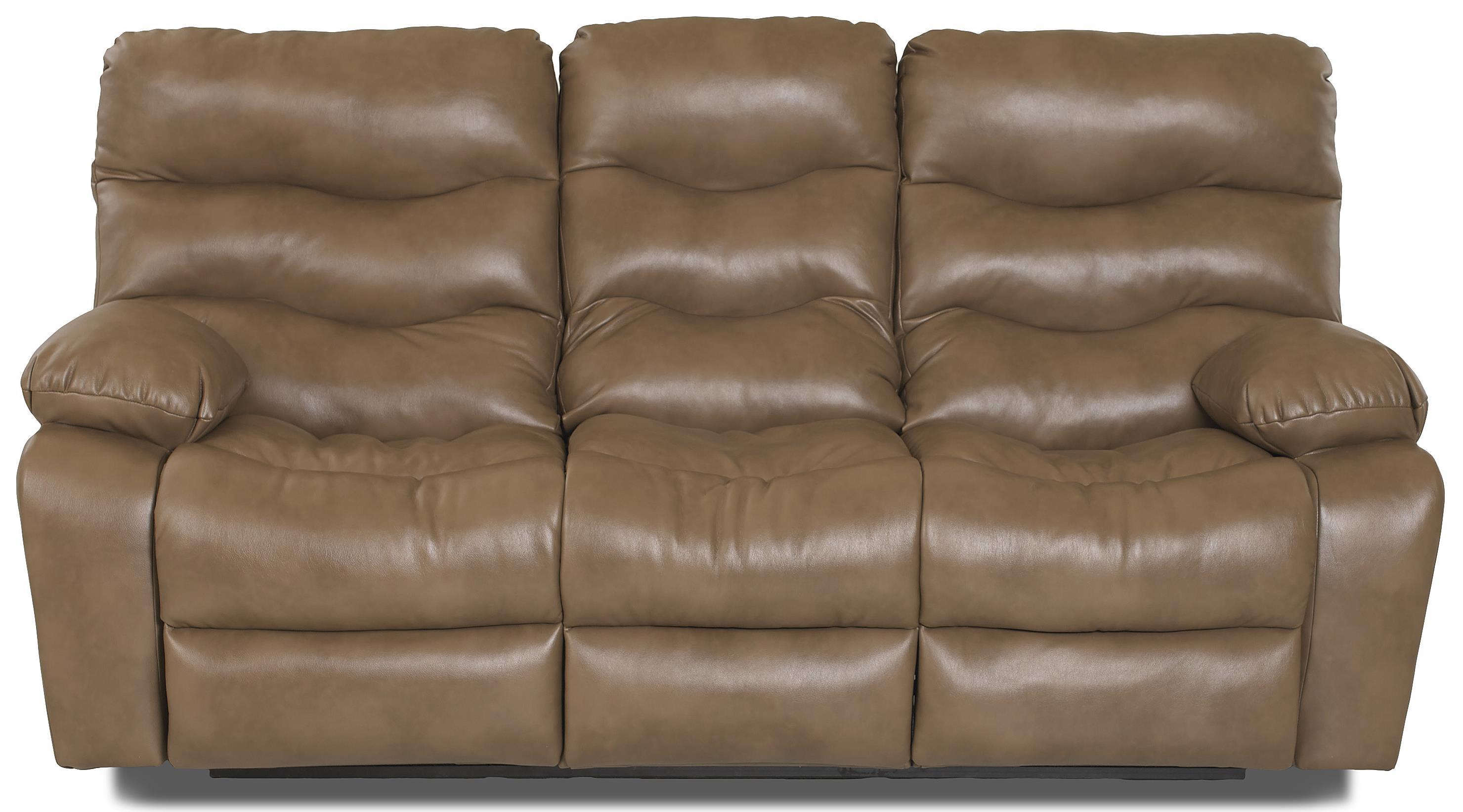 Klaussner Hercules Reclining Sofa - Item Number: 27403 RS-JupiterWalnut