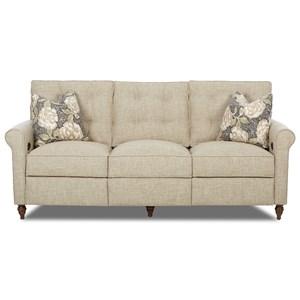 Klaussner Holland Power Hybrid Sofa