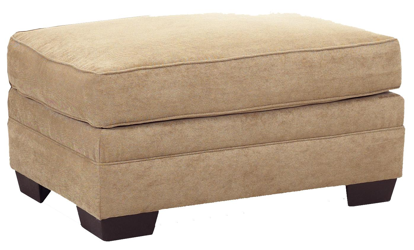 Klaussner Holly Ottoman - Item Number: E76900OTTO