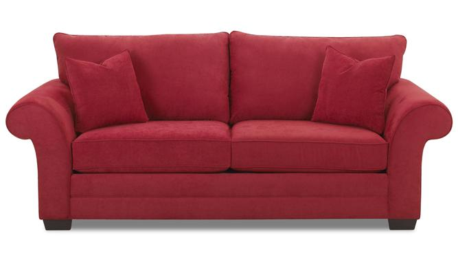 Klaussner Holly Two Cushion Sofa - Item Number: E76900S