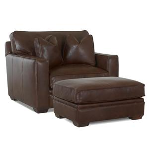Elliston Place Homestead Chair and Ottoman