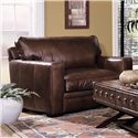 Elliston Place Homestead Leather Chair
