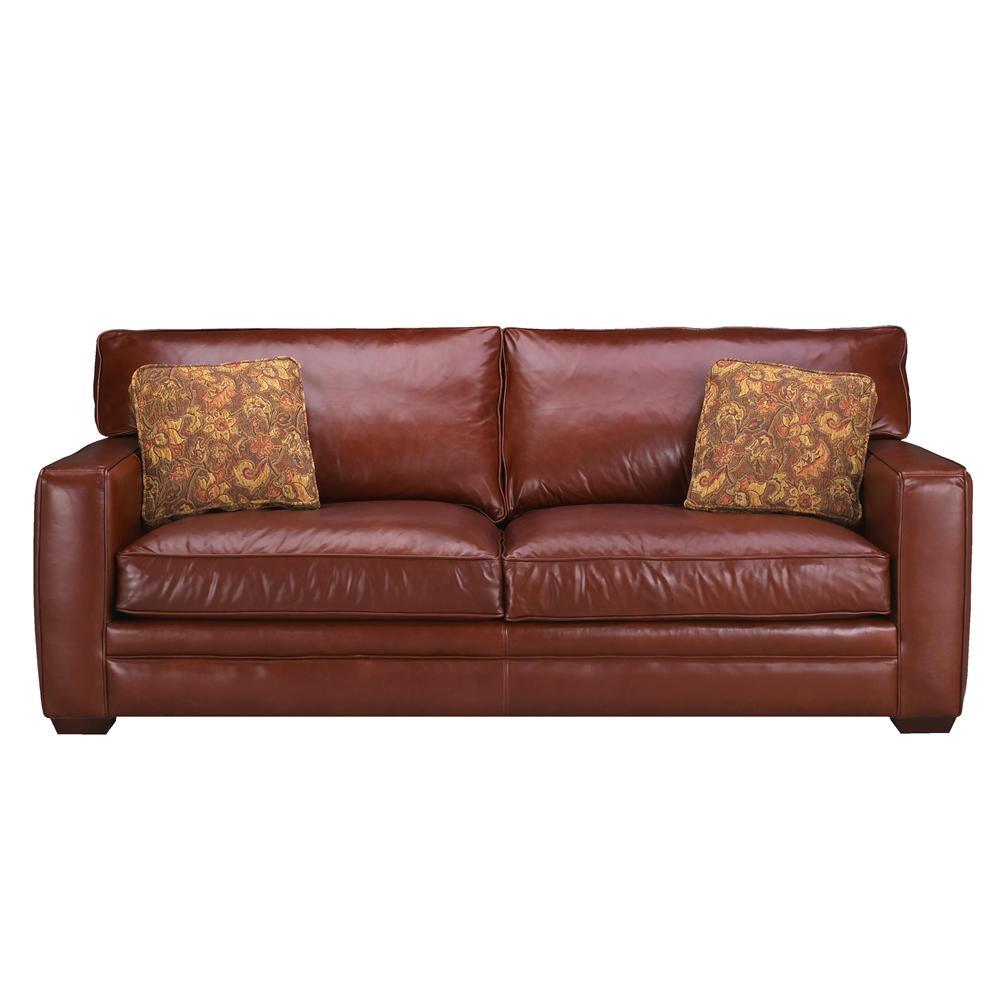 Klaussner Homestead Leather Sofa Darvin Furniture Sofa