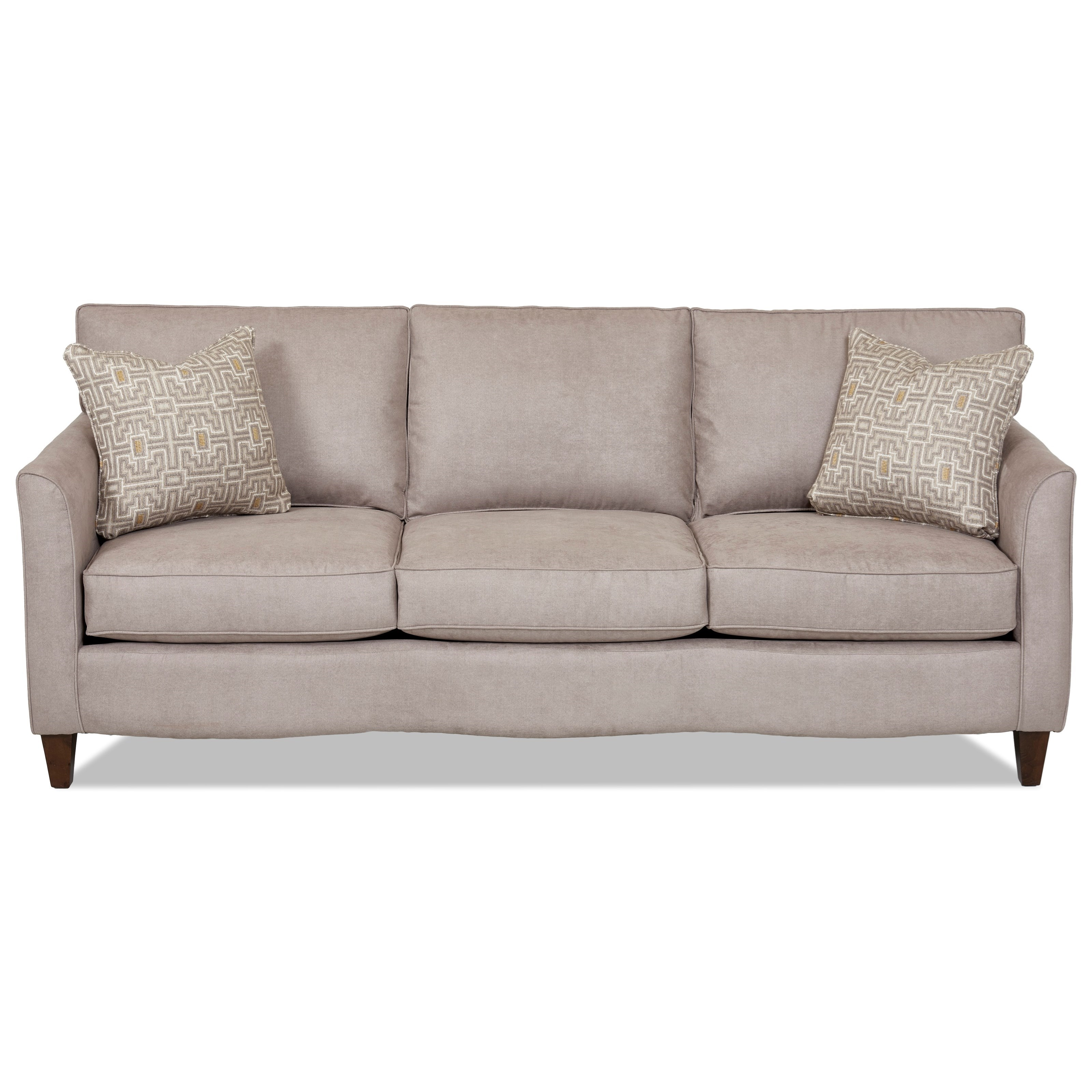 Klaussner Hopewell  Sofa - Item Number: K17200 S-LeviSand