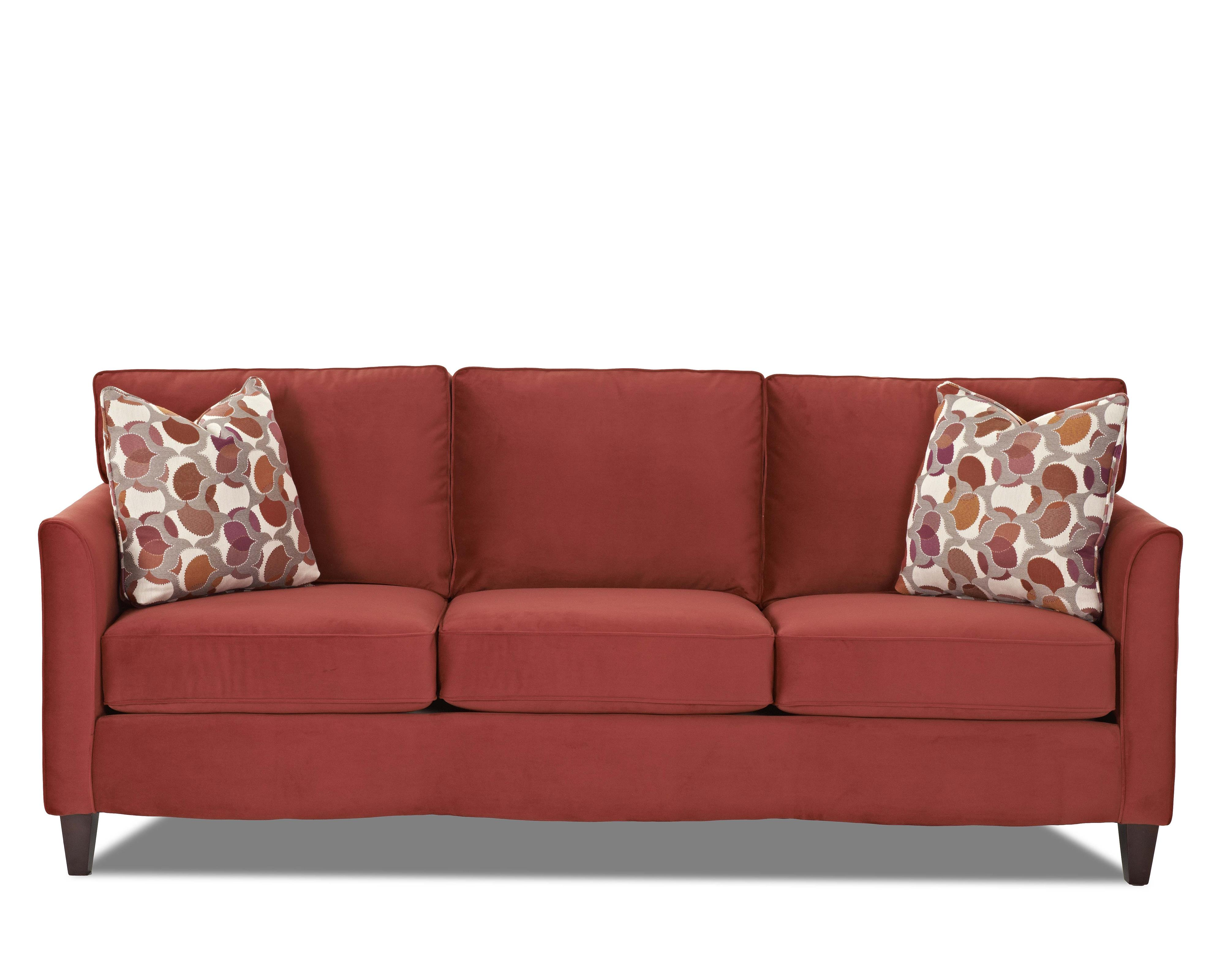 Klaussner Hopewell  Sofa - Item Number: K17200 S-OakleyTomato