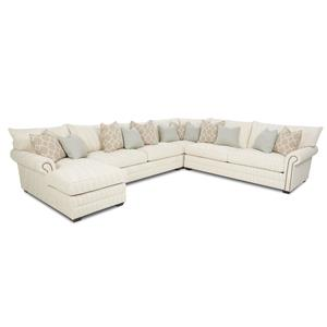 Elliston Place Huntley Traditional Sectional Sofa