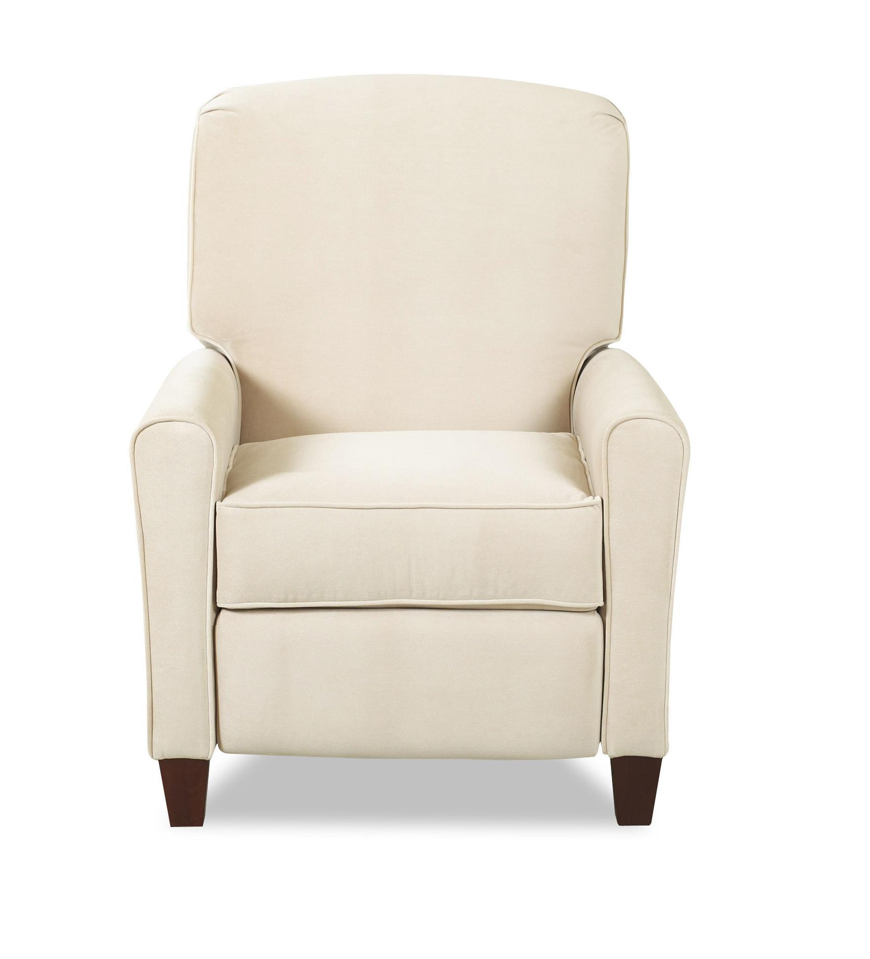 High leg reclining chairs - Klaussner Hybrid High Leg Reclining Chair Item Number 54408 Hlrc