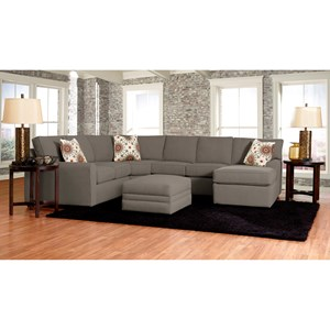 Klaussner Hybrid Living Room Group