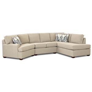 Metropia Camille Sectional Sofa