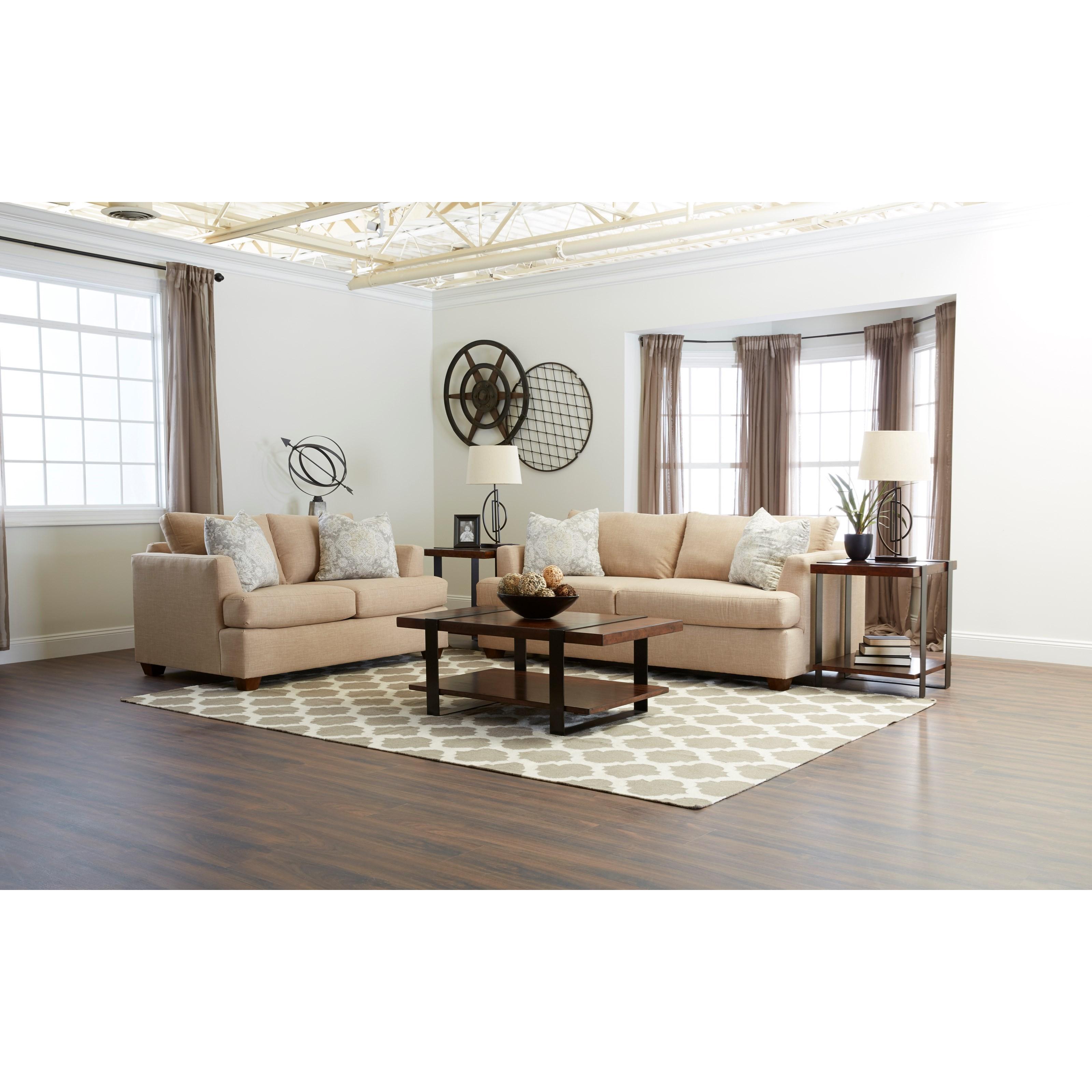 Klaussner Jack Living Room Group - Item Number: K49500 Living Room Group 1