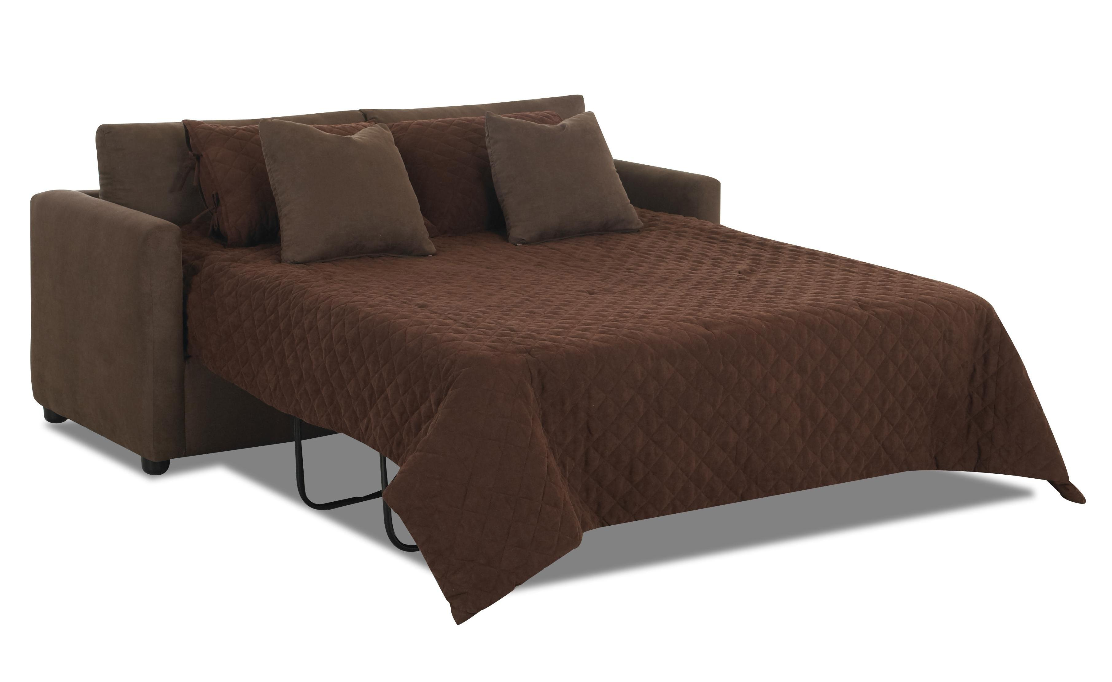 Klaussner Jacobs Casual Queen Sleeper Sofa With Dreamquest