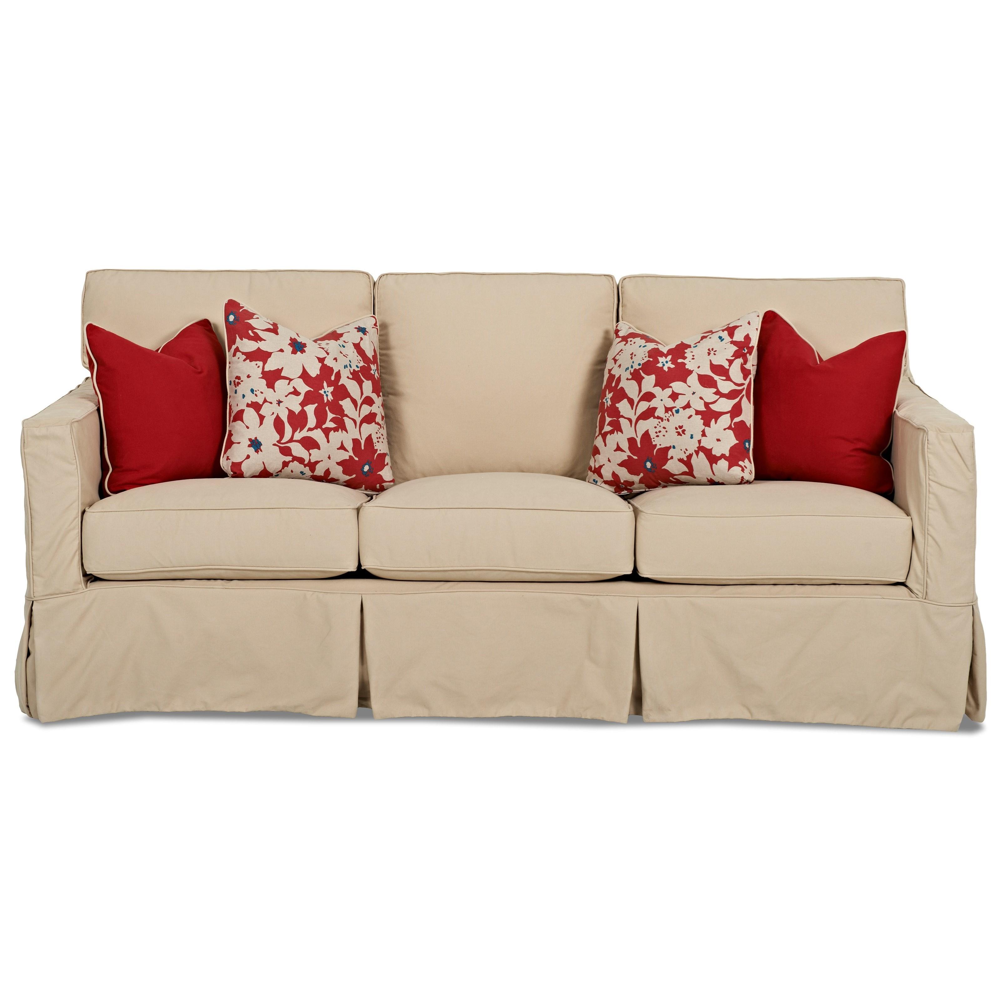 Klaussner Jeffrey  Extra Large Sofa - Item Number: D69100 XS Bayou-Stone