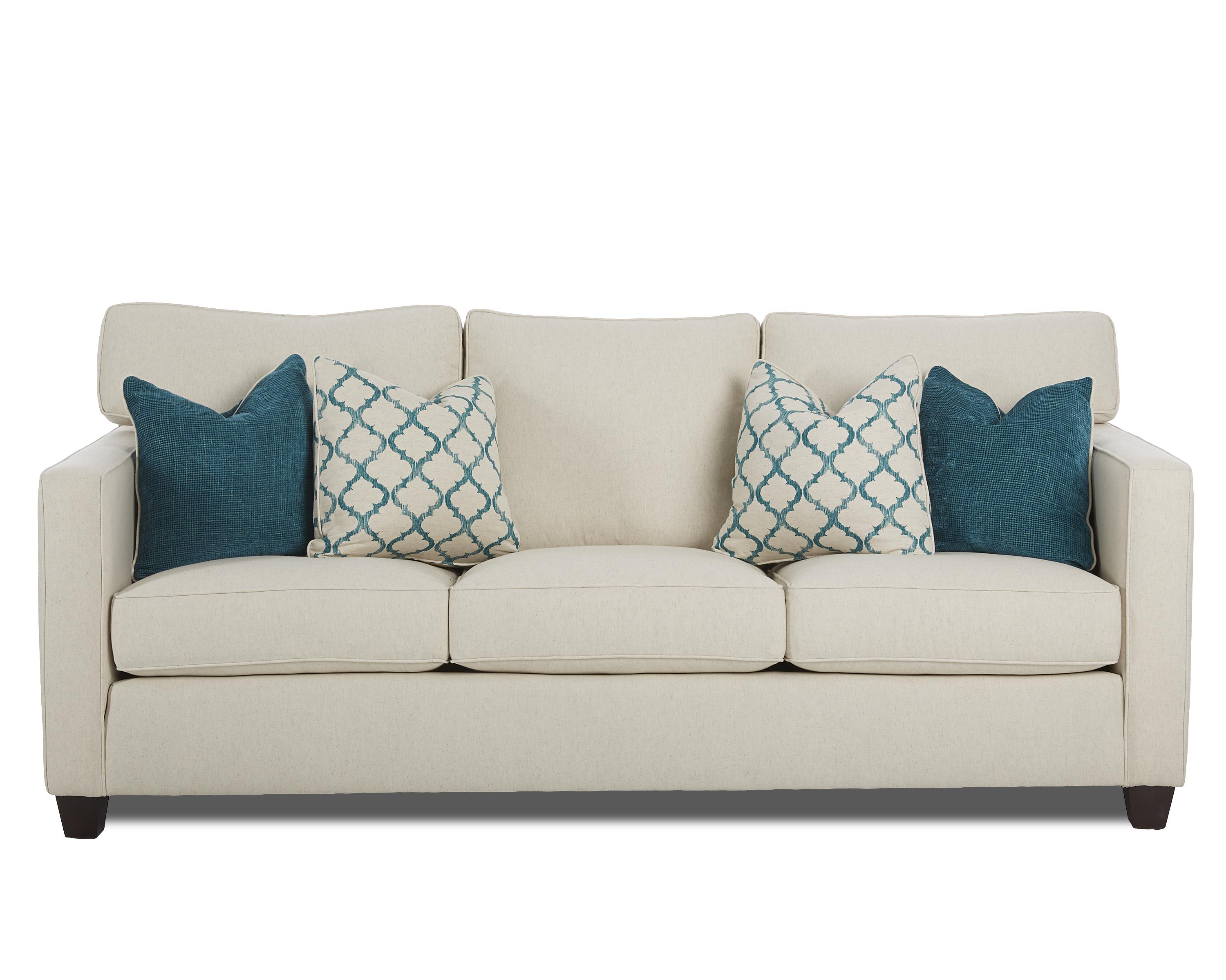 Klaussner Jeffrey  Sofa - Item Number: D69700 S-CotlinNatural