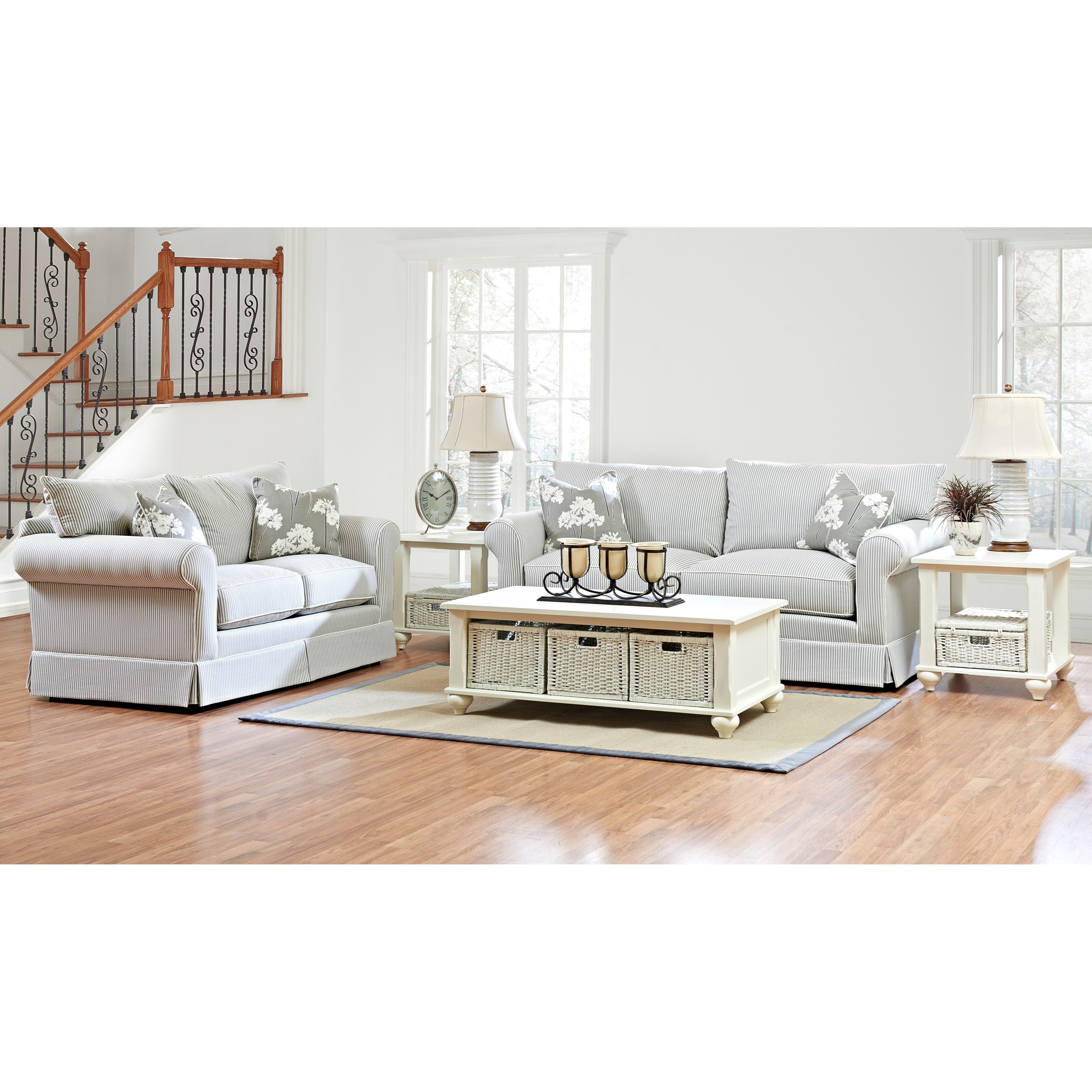 Klaussner Jenny Living Room Group - Item Number: D16700 Living Room Group 1