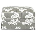 Klaussner Jenny Ottoman - Item Number: D16700 OTTO-Serina Storm