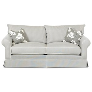 Elliston Place Jenny Transitional Stationary Sofa