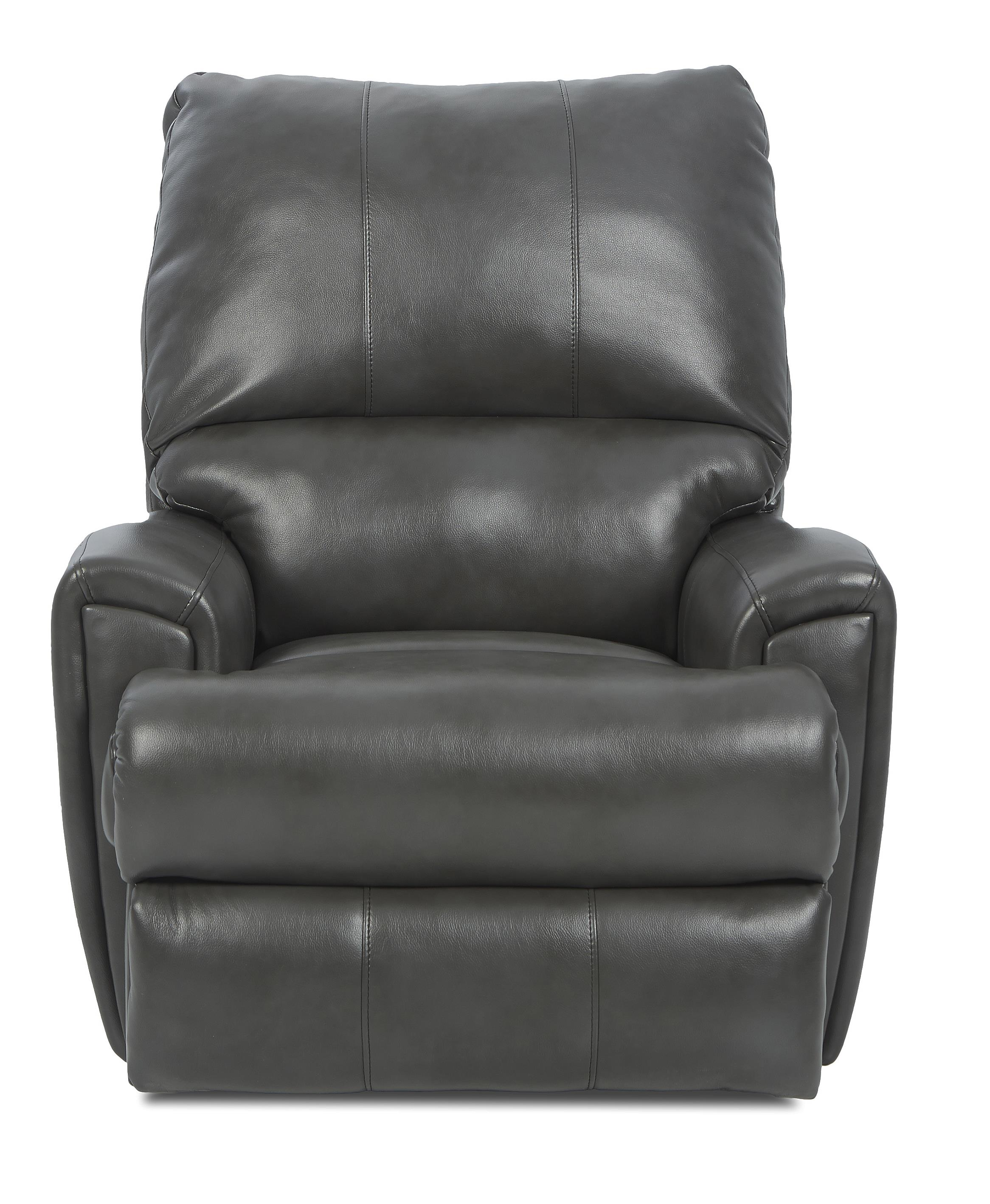 Klaussner Julio Transitional Reclining Chair - Item Number: 83143H RC-JupiterSteel