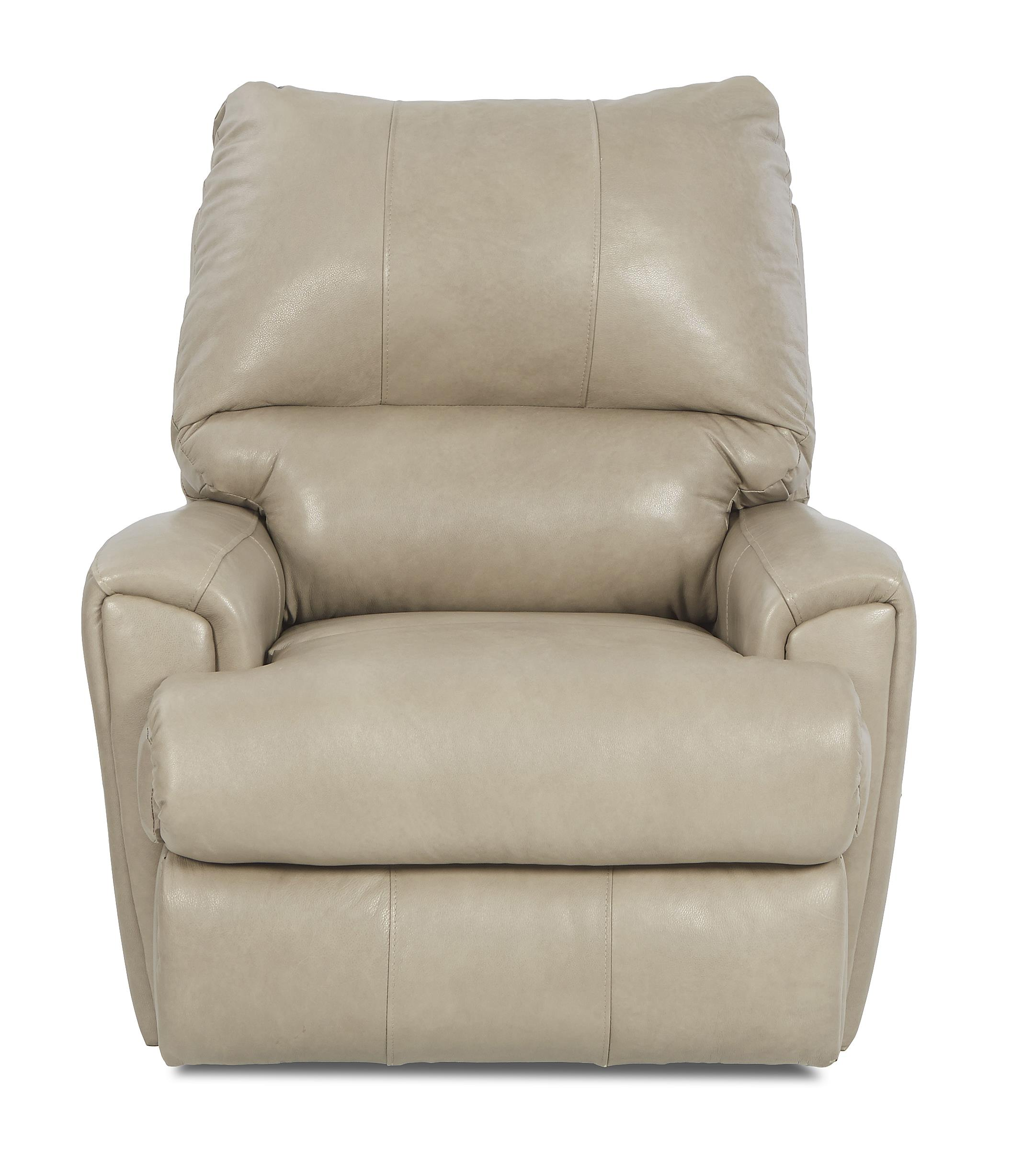 Klaussner Julio Transitional Reclining Chair - Item Number: LV83103H RC-SteamboatPutty