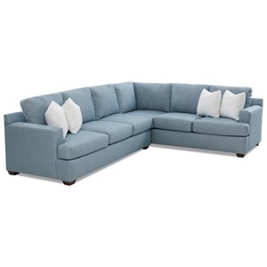 5-Seat Sectional Sofa with RAF Corner