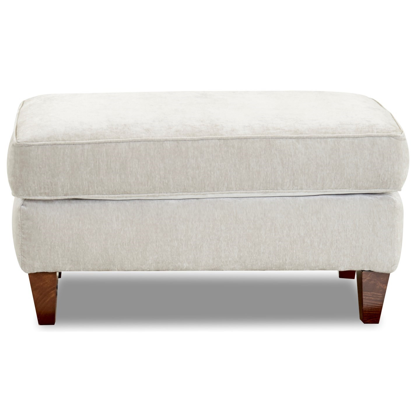 Kimbal Ottoman by Klaussner at Johnny Janosik