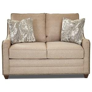 Klaussner Kyler Sleeper Sofa Loveseat w/ Air Dream Mattress