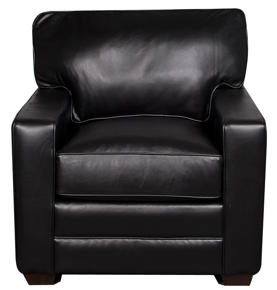 Elliston Place Katelynn Katelynn 100% Leather Chair - Item Number: 418706133