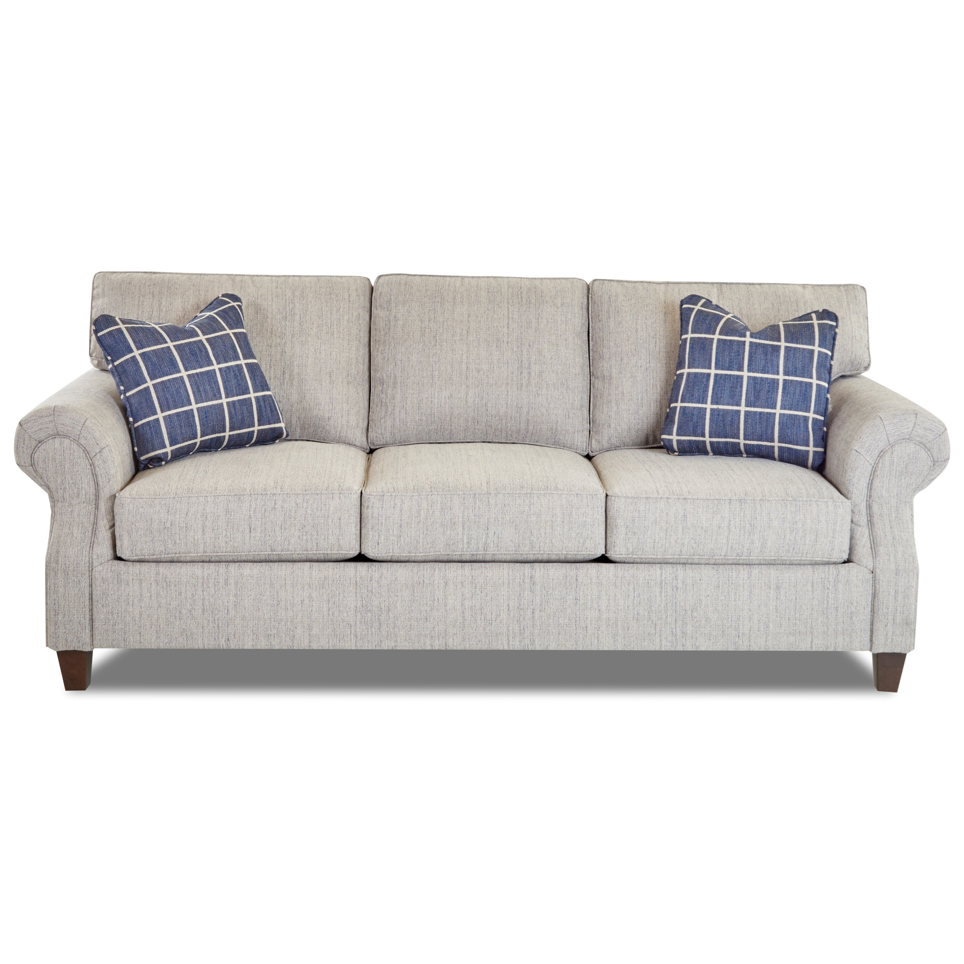 Klaussner Serena Casual Style Sofa Wayside Furniture Sofas