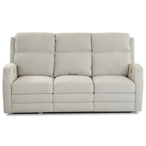 Power Reclining Sofa w/ Pwr Head/Lumbar
