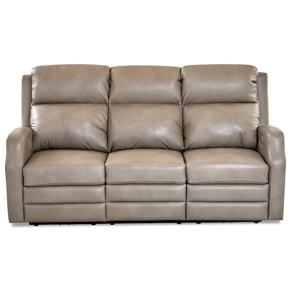 Kamiah Power Recline Sofa w/ Pwr Headrests & Massag by Klaussner at Johnny Janosik