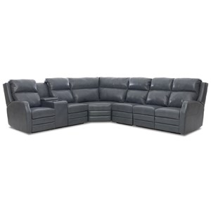 4 Seat Pwr Reclining Sect Sofa w/ Pwr Head