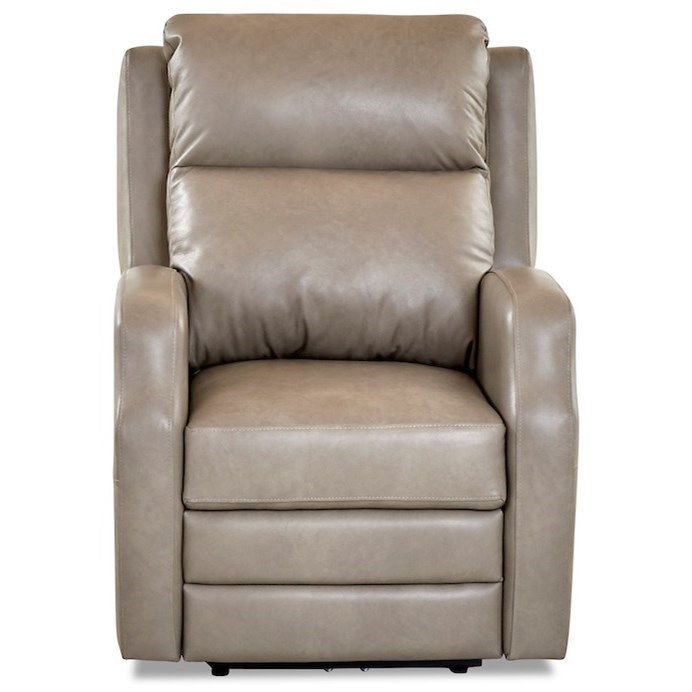 Kamiah Power Rock Reclining Chair w/ Pwr Head/Lumb by Klaussner at Johnny Janosik