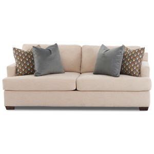Sofa w/ Enso Mem Foam Sleeper Mattress