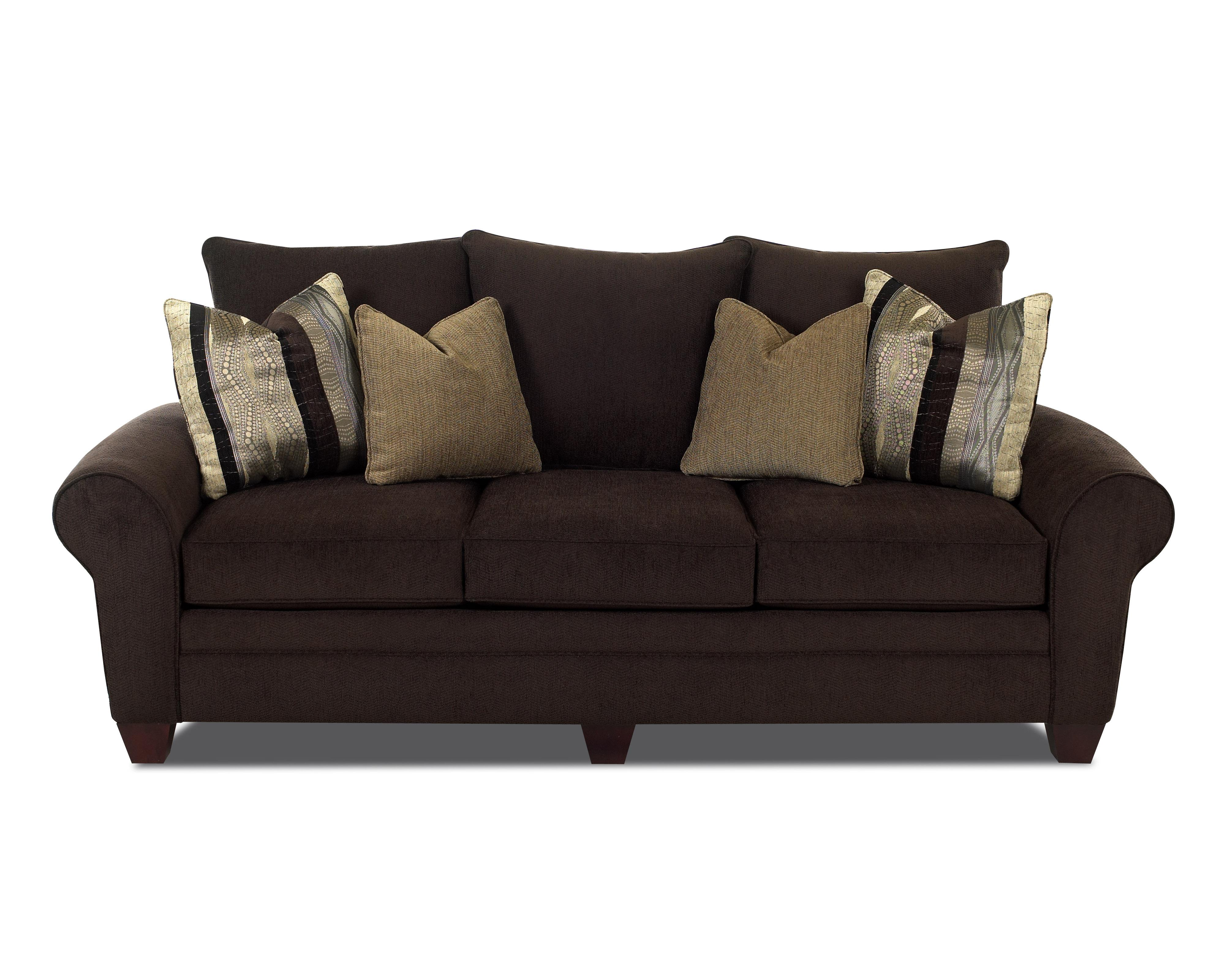 Klaussner Kazler Contemporary Stationary Sofa - Item Number: K57000S