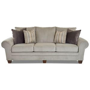 Contemporary Stationary Sofa