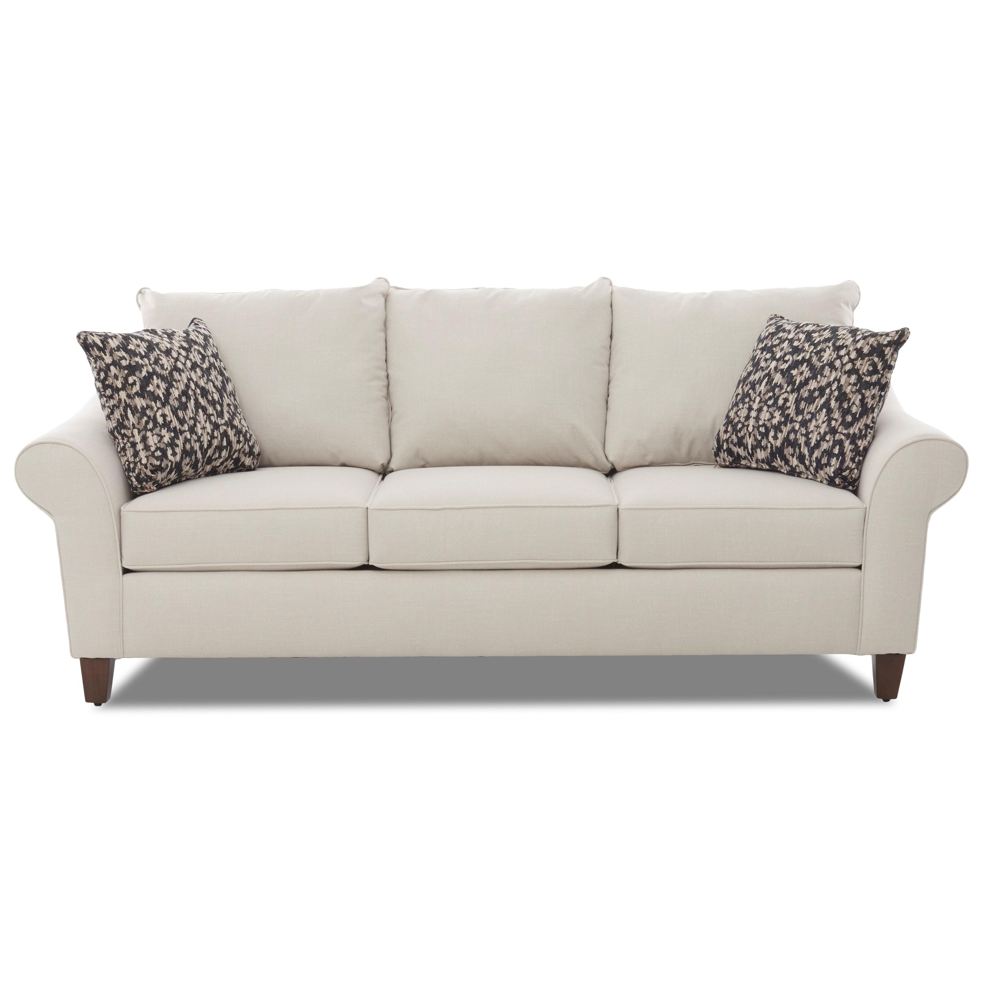 Klaussner Keller Contemporary Sofa