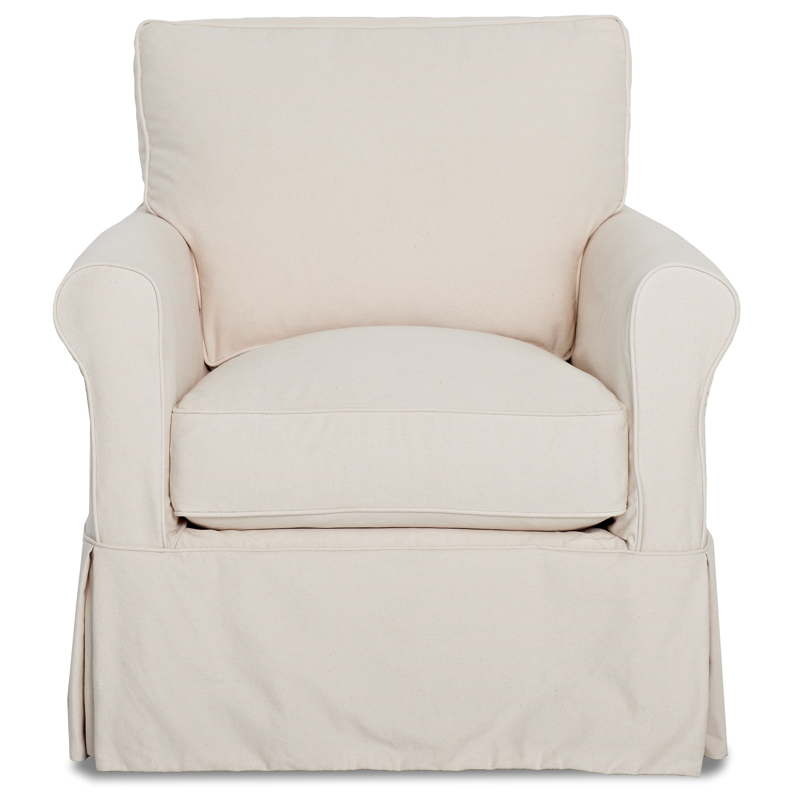 Klaussner Kenmore Chair with Slipcover - Item Number: D7122 C