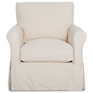 Elliston Place Kenmore Chair with Slipcover