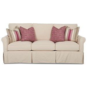 Klaussner Kenmore Sofa with Slipcover