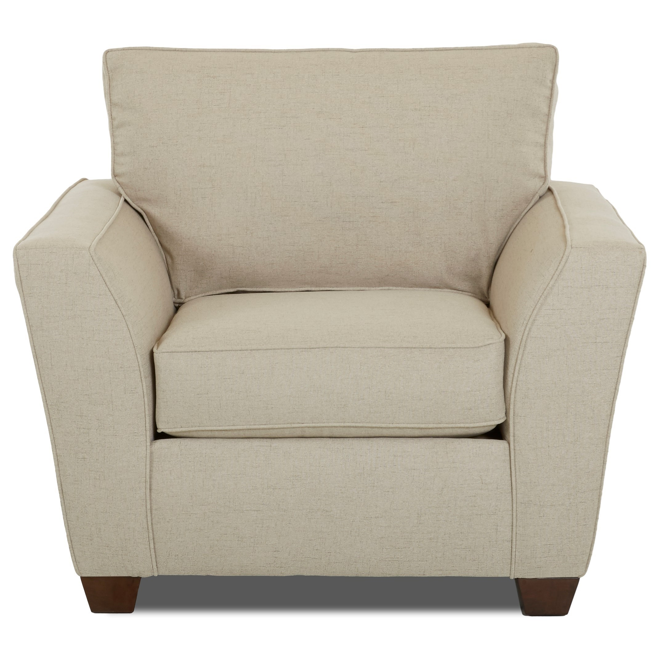 Klaussner Kent Chair - Item Number: K75600 C-LUCAS HEMP
