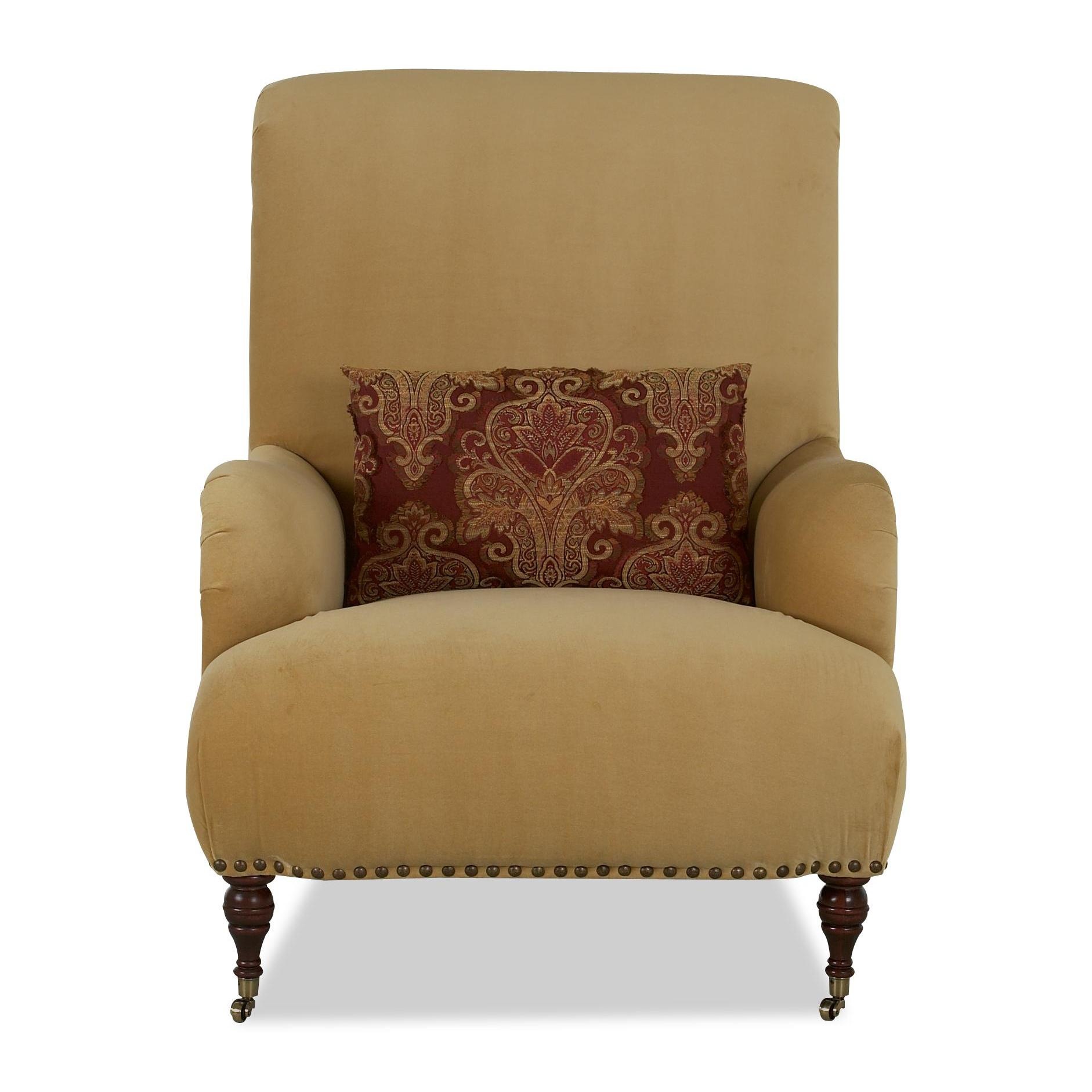 Klaussner Chairs and Accents Dapper Accent Chair - Item Number: 2010C