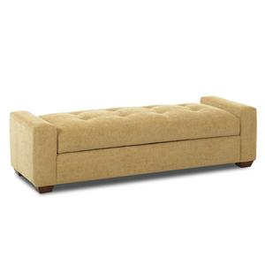 Klaussner Chairs and Accents Lounging Ottoman