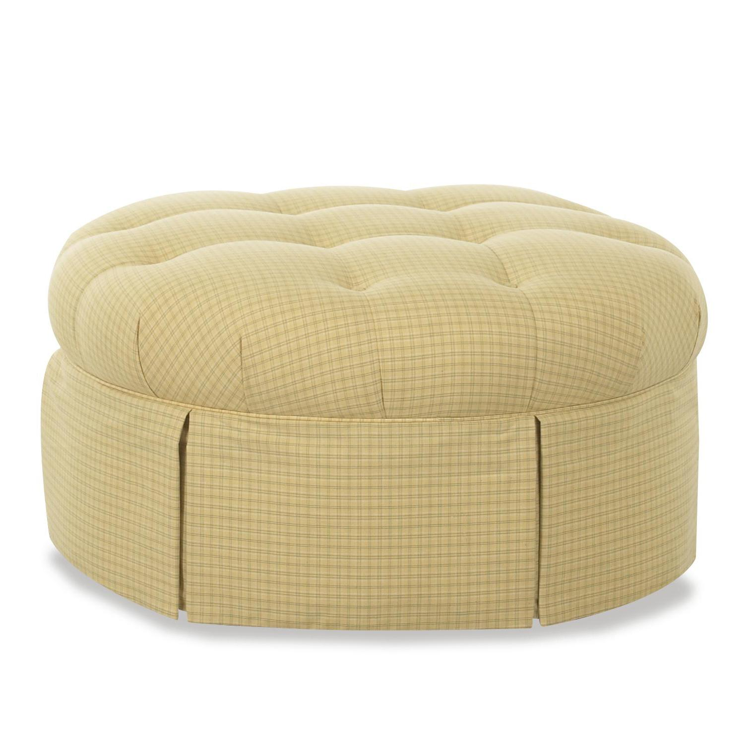 Klaussner Chairs and Accents Jessica Ottoman - Item Number: 56500OTTO