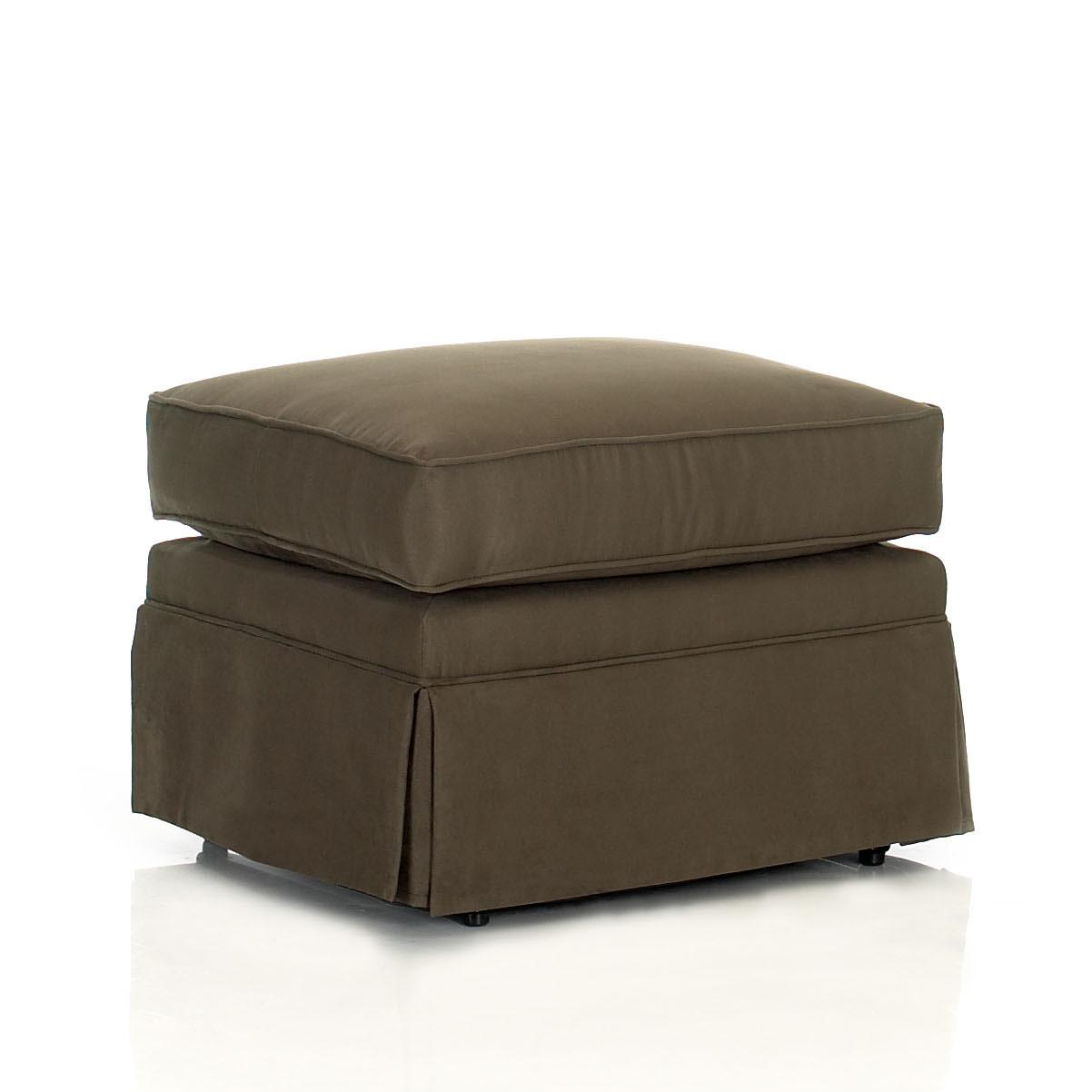 Klaussner Chairs and Accents Carolina Ottoman - Item Number: 750-OTTO