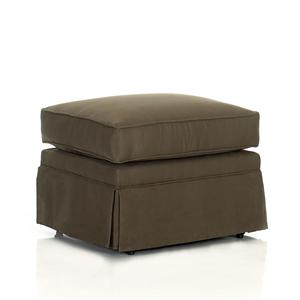 Elliston Place Chairs and Accents Carolina Ottoman