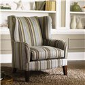 Klaussner Chairs and Accents Polo Accent Wing Chair - 770C