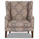 Klaussner Chairs and Accents Polo Accent Chair - Item Number: 770M-JAZO DENIM