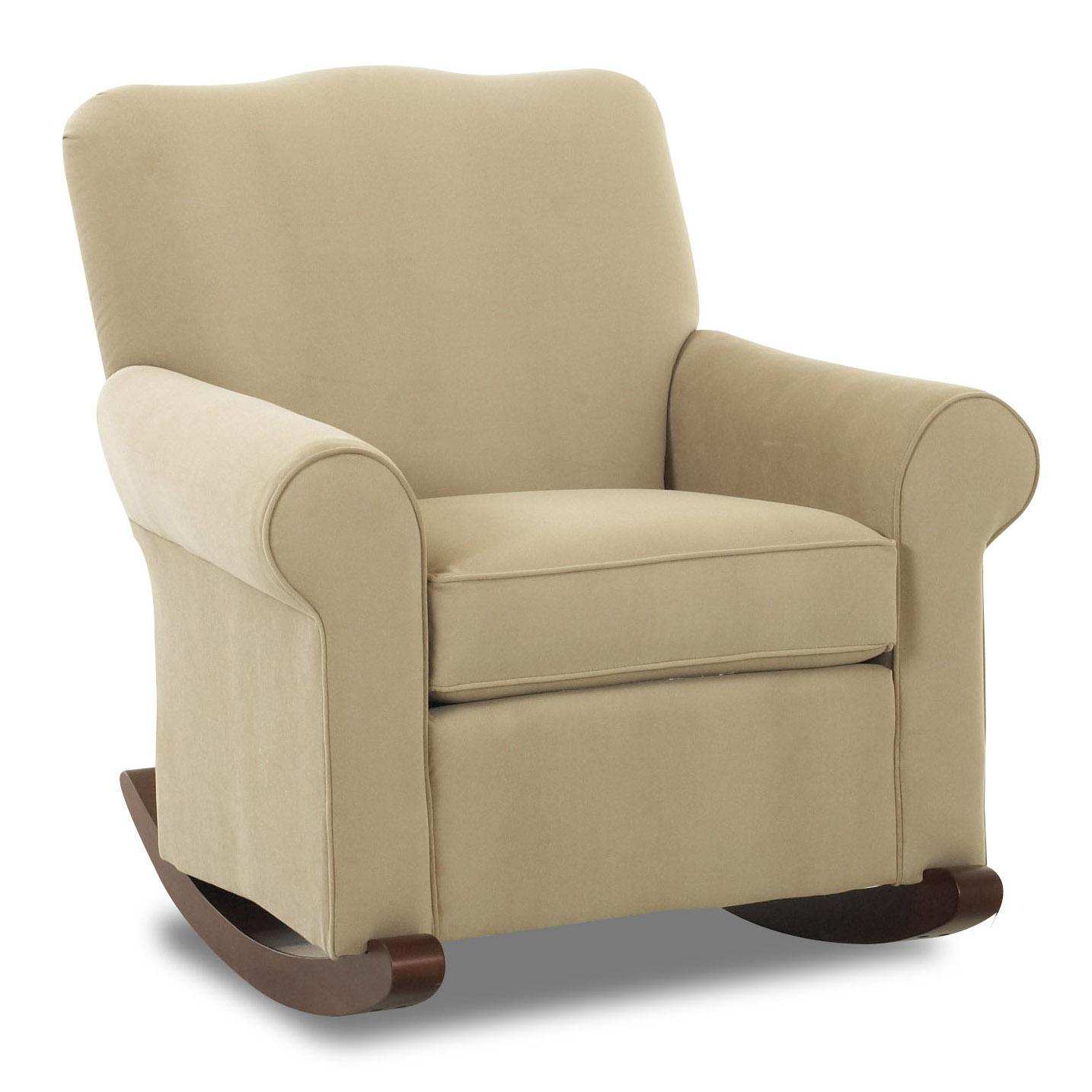 Klaussner Chairs And Accents Old Town Upholstered Rocker