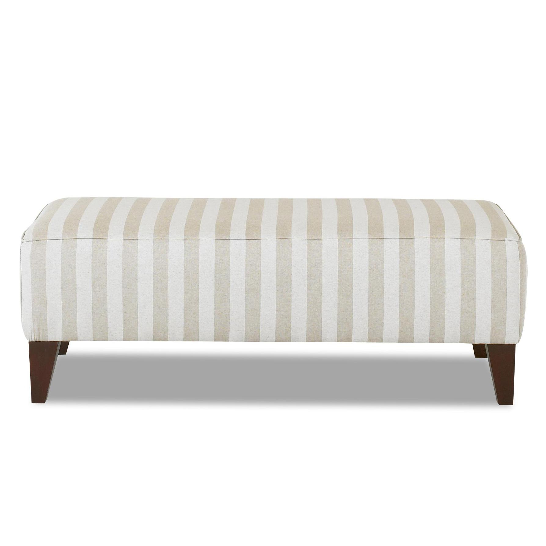 Klaussner Chairs and Accents Piano Ottoman - Item Number: 9848OTTO