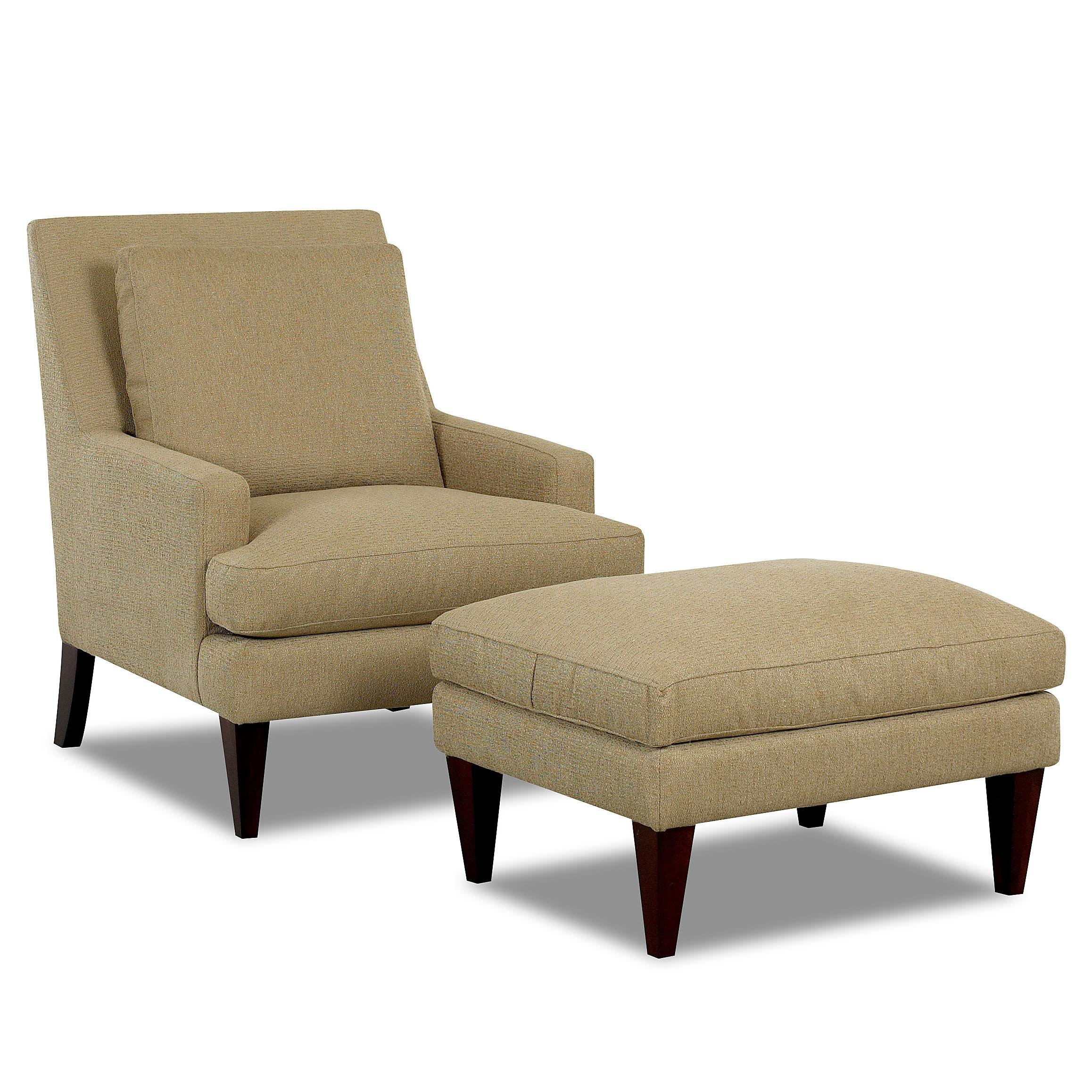 Townsend Chair and Ottoman Set