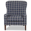 Elliston Place Chairs and Accents Annabel Chair - Item Number: D19400 OC-KILLKENNY SAPHIRE